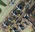 London Heathrow Satellite Photograph