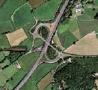 A38 Junctions Aerial Photograph