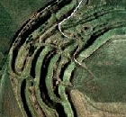 Maiden Castle Satellite Photograph